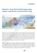 Hepatitis C Drugs Market Health Improvement Aspects, Expert Reviews, Research 2018 to 2026