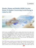 Measles, Mumps and Rubella (MMR) Vaccines Market Estimated to Record Highest CAGR by 2026