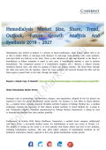 Hemodialysis Market To Witness Substantial Gains Over 2019-2027
