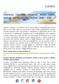 Laboratory Centrifuge Equipment Market