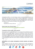 Cytomegalovirus (CMV) Infection Treatment and Diagnosis Market