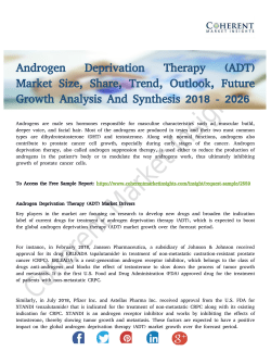 Androgen Deprivation Therapy (ADT) Market Research On Trends to 2026