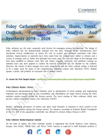 Foley Catheters Market Present Scenario and Growth Prospects To 2026