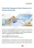 Clinical Data Management Market Trends Estimates High Demand by 2026