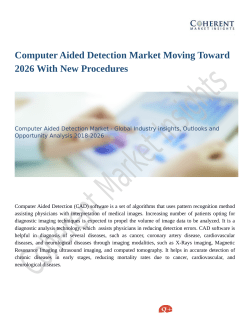 Computer Aided Detection Market Expansion to be Persistent During 2026