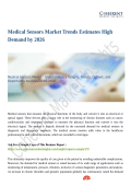 Medical Sensors Market Will Witness a Staggering Growth During 2018-2026