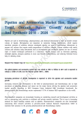 Pipettes and Accessories Market Prospects and Growth Trends Analysis Till 2026
