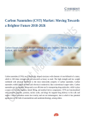 Carbon Nanotubes (CNT) Market Positive Long-Term Growth Outlook 2018-2026