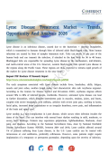 Lyme Disease Treatment Market