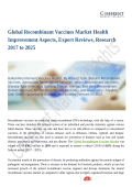 Global Recombinant Vaccines Market at a Rapid Pace Until 2025