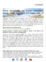 Robotic Rehabilitation and Assistive Technologies Market