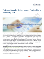 Peripheral Vascular Devices Market Value Projected to Expand by 2018-2026