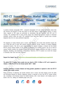 PET-CT Scanner Device Market Growth Prospects Analysis - 2026