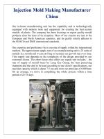 Injection Mold Making Manufacturer China