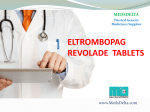 Buy Revolade 50mg Tablet |印度Eltrombopag价格| Indian Revolade Wholesale Price Supplier