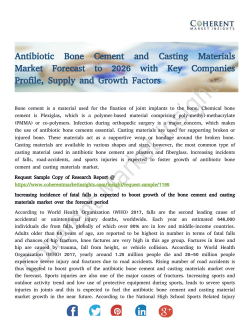 Antibiotic Bone Cement and Casting Materials Market