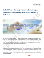 Global Wound Dressing Market Is Recurring & Impressive Growth Generating Sector Through 2016-2024