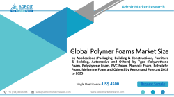 Polymer Foams Market Overview, Market Size, Industry Growth Analysis & Forecast 2025|