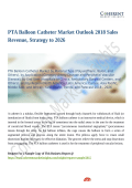 PTA Balloon Catheter Market Projected to Grow Steadily During 2018-2026