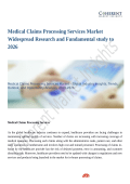 Medical Claims Processing Services Market Demands and Growth Prediction, Outlook 2018-2026