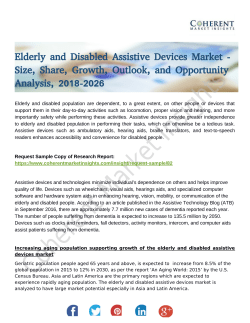 Elderly and Disabled Assistive Devices Market
