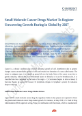 Small Molecule Cancer Drugs Market Size & Share to See Modest Growth Through 2027