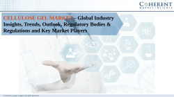 Cellulose gel Market