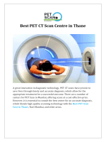 Best PET CT Scan Centre in Thane