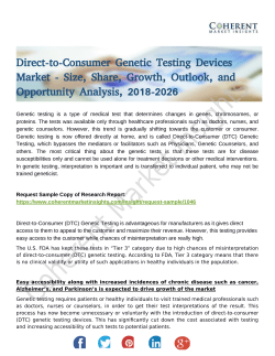 Direct-to-Consumer Genetic Testing Devices Market