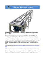 Global Conveyor System Market Research Report- Forecast 2022