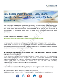 ECG Sensor Patch Market
