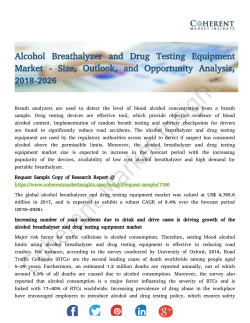 Alcohol Breathalyzer and Drug Testing Equipment Market