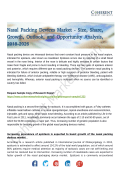 Nasal Packing Devices Market