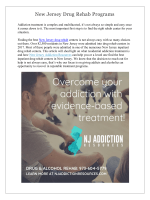 New Jersey Drug Rehab Programs