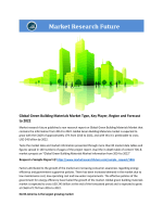 Green Building Materials Market Research Report - Forecast to 2022