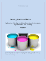 Coating Additives Market