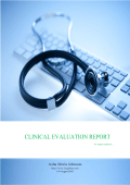 Clinical Evaluation Report for Medical Devices