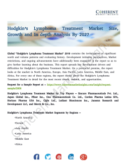 Hodgkin's Lymphoma Treatment Market