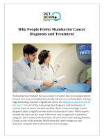 Why People Prefer Mumbai for Cancer Diagnosis and Treatment