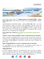 Biopharmaceuticals and Biomedicine Market