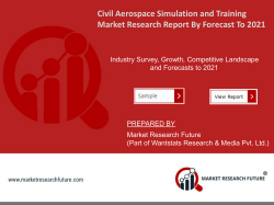 Civil Aerospace Simulation and Training Market Research Report - Global Forecast till 2025