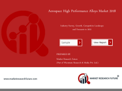 Aerospace High-Performance Alloys Market Research Report - Global Forecast till 2025