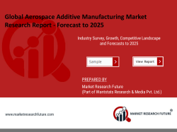 Aerospace Additive Manufacturing Market Research Report - Global Forecast till 2025