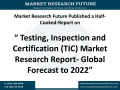 Testing, Inspection and Certification (TIC) Market Research Report- Global Forecast to 2022